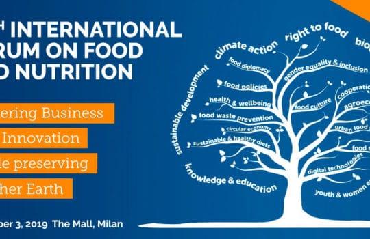 Il Master Food & Wine 4.0 è partner del X Forum internazionale della Fondazione Barilla Center for Food & Nutrition (BCFN)