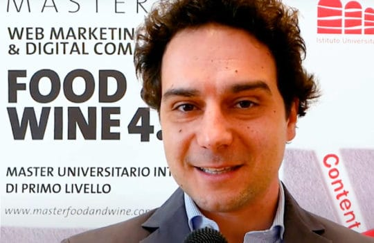 ALBERTO RASELLI, MEDIA & COMMUNICATION MANAGER DEL GRUPPO BAULI, È OSPITE AL MASTER FOOD & WINE 4.0