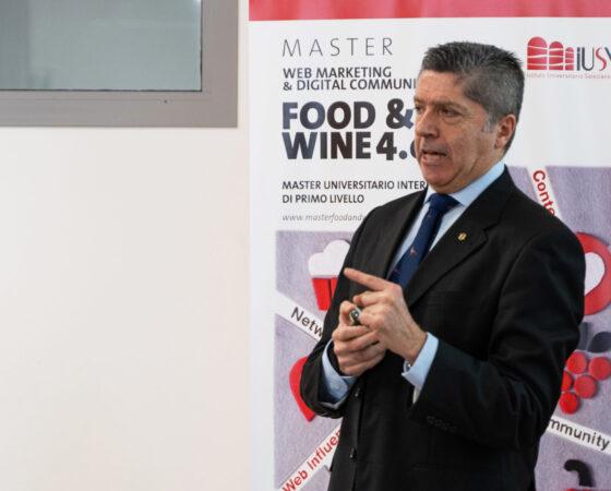 MORENO FAINA, DIRETTORE DELL'UNIVERSITÀ DEL CAFFÈ ILLY, È OSPITE AL MASTER FOOD & WINE 4.0